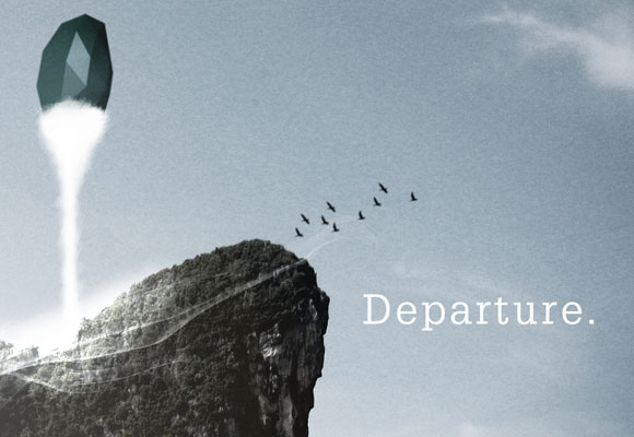 Free posters - Departure - Close up 2