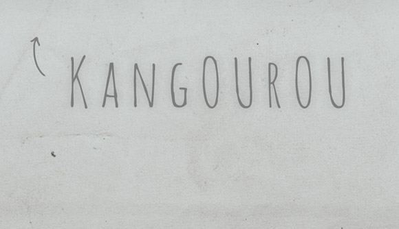 Free posters - Kangourou - Close-up 3