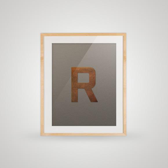 Free poster - Feltr - Framed
