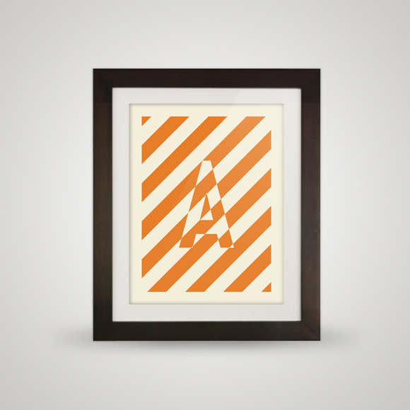 Free posters - A pattern - In frame