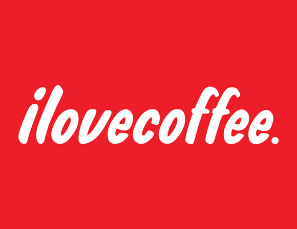 Free posters - I love [illy] coffee - Full poster