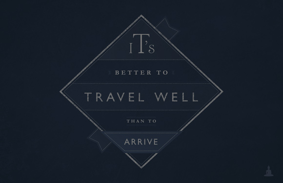 Free posters - Travel well - Full poster