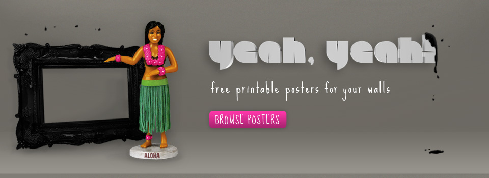 All your free posters. Right here!