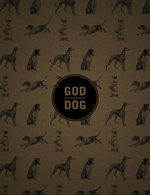 Free printable poster - God/Dog - Full poster