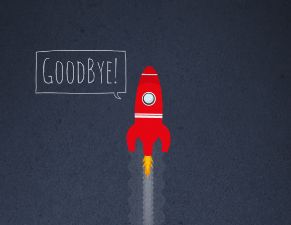 Free printable poster - GoodBye! - Closeup 1