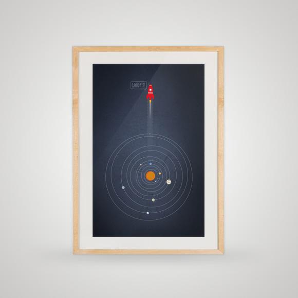 Free printable poster - GoodBye! - In frame