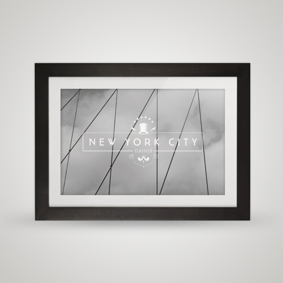 Free poster - New York City Classics - Framed