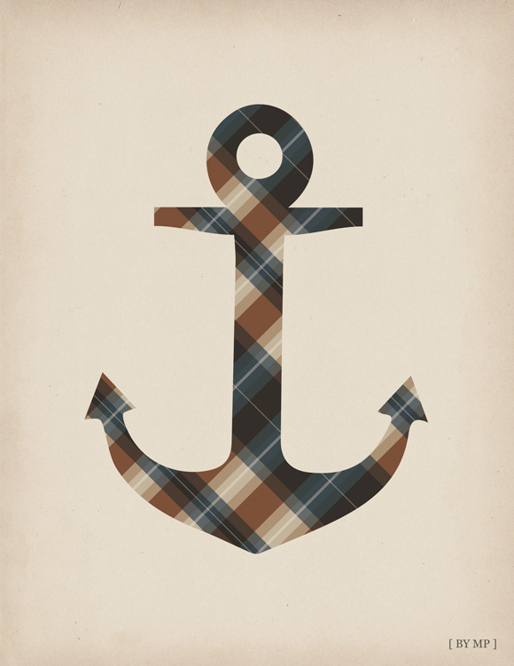 Free printable poster - That checked anchor - Full poster