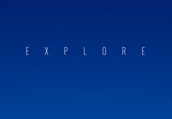 Free poster - Explore new horizons - Close-up 2
