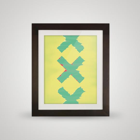 Free poster - XXX - Framed