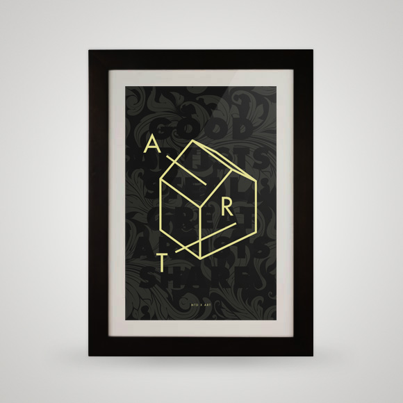 Free printable poster - Art - Framed