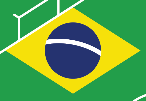 Free printable poster - Brazil World Cup 2014 - Close up 1