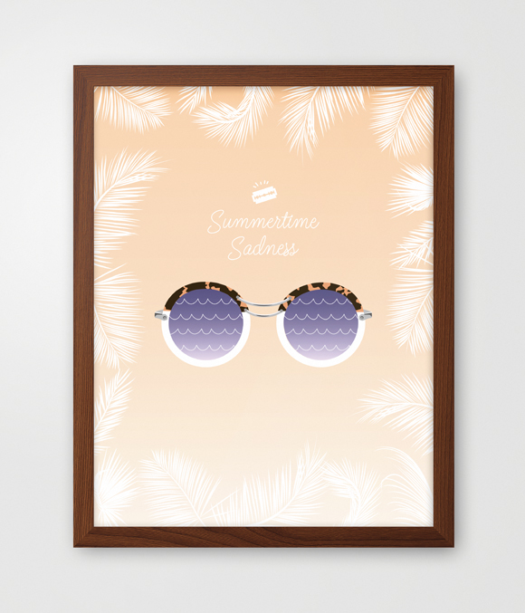 Summertime_framed_poster